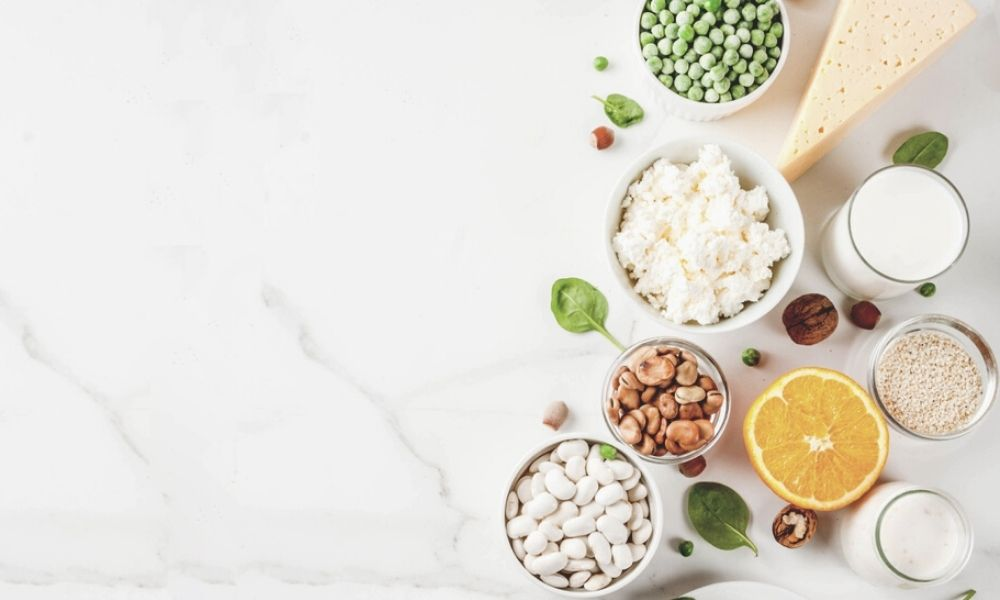 Alimentos para evitar la descalcificación de los huesos